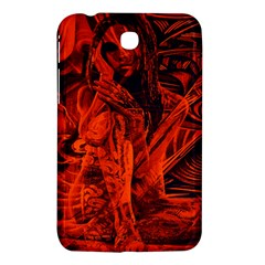 Red girl Samsung Galaxy Tab 3 (7 ) P3200 Hardshell Case