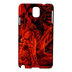 Red girl Samsung Galaxy Note 3 N9005 Hardshell Case