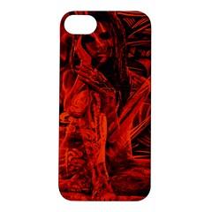Red girl Apple iPhone 5S/ SE Hardshell Case