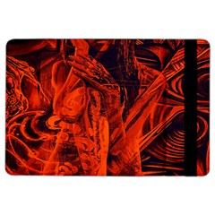 Red girl iPad Air 2 Flip
