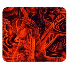 Red girl Double Sided Flano Blanket (Small)