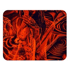 Red girl Double Sided Flano Blanket (Large)
