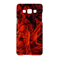 Red girl Samsung Galaxy A5 Hardshell Case