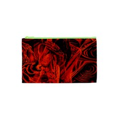Red girl Cosmetic Bag (XS)