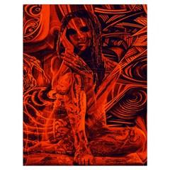 Red girl Drawstring Bag (Large)