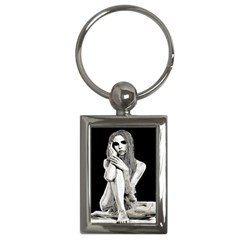 Stone girl Key Chains (Rectangle)
