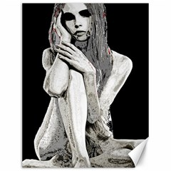 Stone girl Canvas 12  x 16