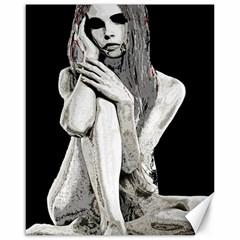 Stone girl Canvas 16  x 20