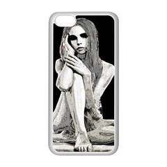 Stone girl Apple iPhone 5C Seamless Case (White)