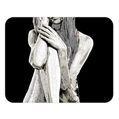 Stone girl Double Sided Flano Blanket (Large)