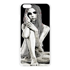 Stone girl Apple Seamless iPhone 6 Plus/6S Plus Case (Transparent)
