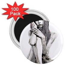 Stone girl 2.25  Magnets (100 pack)