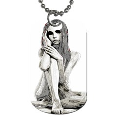 Stone girl Dog Tag (One Side)