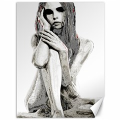 Stone girl Canvas 36  x 48
