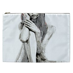 Stone girl Cosmetic Bag (XXL)