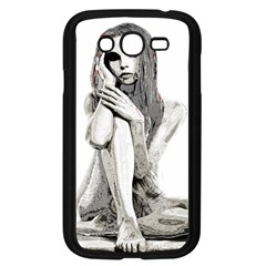 Stone girl Samsung Galaxy Grand DUOS I9082 Case (Black)