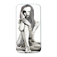 Stone girl Samsung Galaxy S4 I9500/I9505  Hardshell Back Case