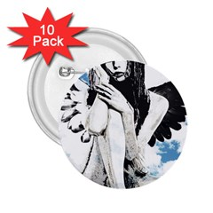 Angel 2.25  Buttons (10 pack)