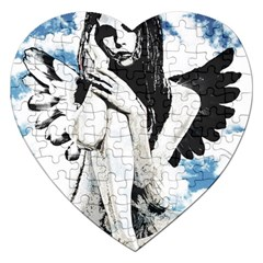 Angel Jigsaw Puzzle (Heart)
