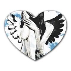 Angel Heart Mousepads