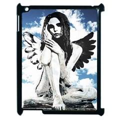 Angel Apple iPad 2 Case (Black)