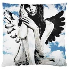 Angel Large Cushion Case (One Side)