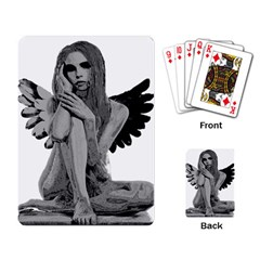Stone angel Playing Card