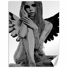 Stone angel Canvas 12  x 16