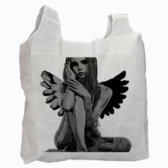 Stone angel Recycle Bag (Two Side)