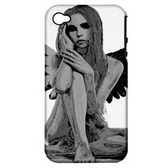 Stone angel Apple iPhone 4/4S Hardshell Case (PC+Silicone)