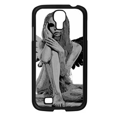 Stone angel Samsung Galaxy S4 I9500/ I9505 Case (Black)
