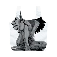 Stone angel Full Print Recycle Bags (M)
