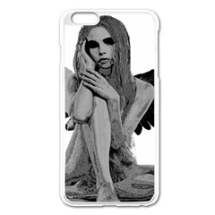 Stone angel Apple iPhone 6 Plus/6S Plus Enamel White Case