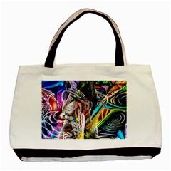 Graffiti girl Basic Tote Bag