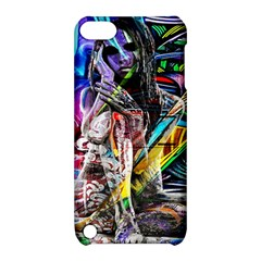 Graffiti girl Apple iPod Touch 5 Hardshell Case with Stand