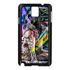 Graffiti girl Samsung Galaxy Note 3 N9005 Case (Black)