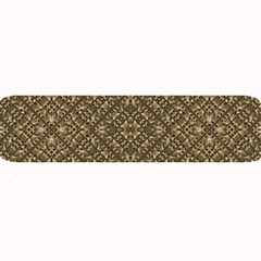 Wooden Ornamented Pattern Large Bar Mats
