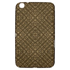 Wooden Ornamented Pattern Samsung Galaxy Tab 3 (8 ) T3100 Hardshell Case