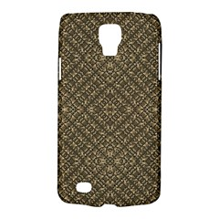 Wooden Ornamented Pattern Galaxy S4 Active