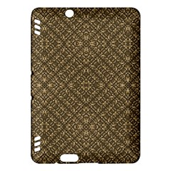 Wooden Ornamented Pattern Kindle Fire HDX Hardshell Case