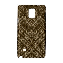 Wooden Ornamented Pattern Samsung Galaxy Note 4 Hardshell Case