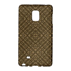 Wooden Ornamented Pattern Galaxy Note Edge