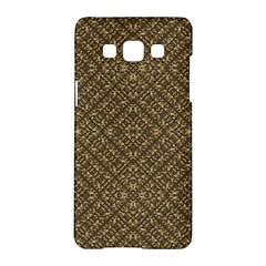 Wooden Ornamented Pattern Samsung Galaxy A5 Hardshell Case