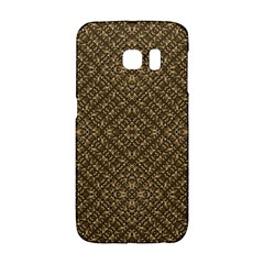 Wooden Ornamented Pattern Galaxy S6 Edge