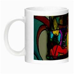 Hippie van  Night Luminous Mugs