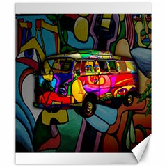 Hippie van  Canvas 20  x 24
