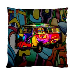 Hippie van  Standard Cushion Case (Two Sides)