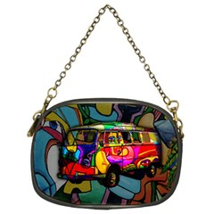 Hippie van  Chain Purses (Two Sides)