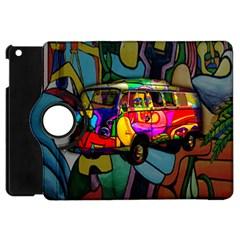 Hippie van  Apple iPad Mini Flip 360 Case