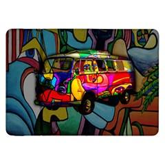 Hippie van  Samsung Galaxy Tab 8.9  P7300 Flip Case